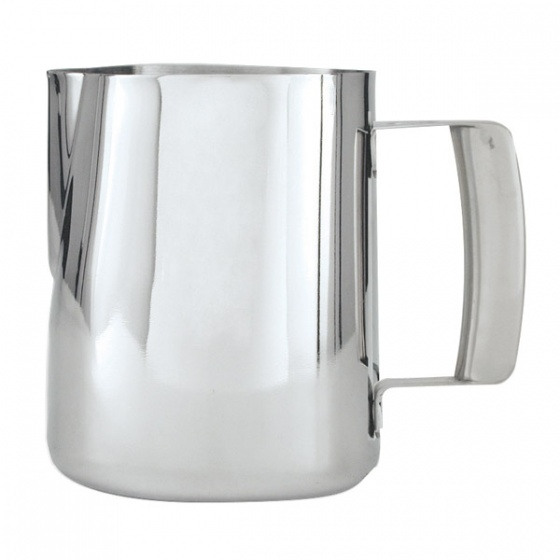 Water or Milk Frothing Jug Stainless Steel 1000ml
