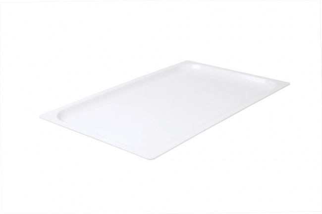 White Food Pan 1/1 Size 20mm