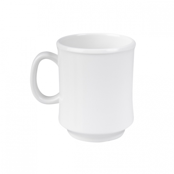 Ryner Melamine Stackable Mug White