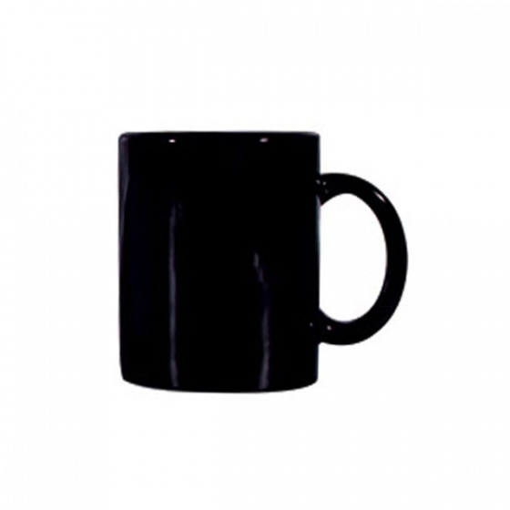 Basics Can Shaped Mug Black 340ml