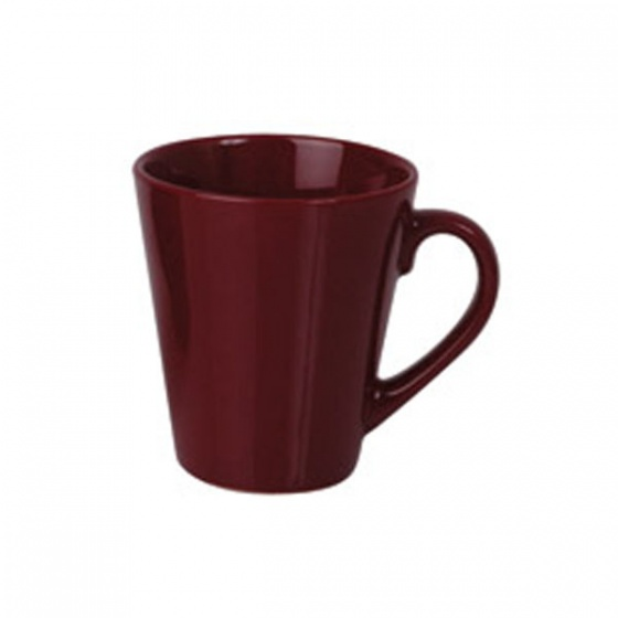 Basics Tapered Mug Maroon 280ml