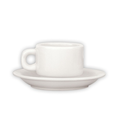Trenton Basics Saucer to suit Stackable Espresso Cup Wh