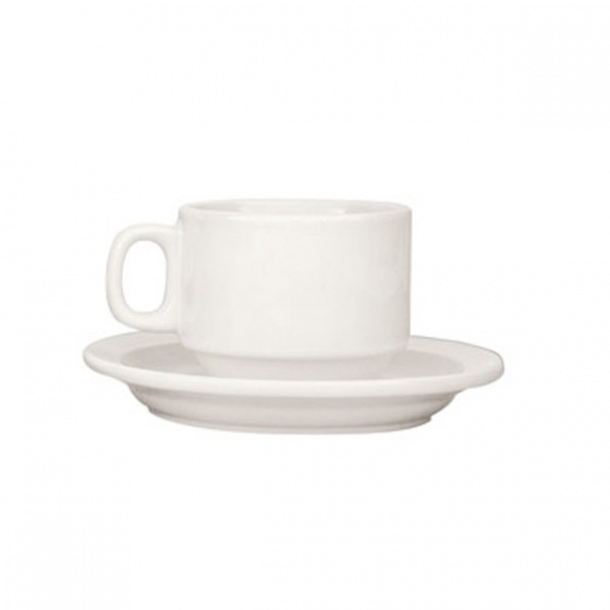 Trenton Basics Stackable Tea/Coff Cup 200ml White