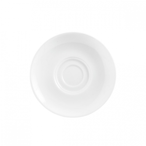 White Saucer to suit Stackable Tea/Coff Cup