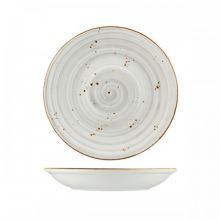 Wellington Round Coupe Bowl Rustic Grey 265mm