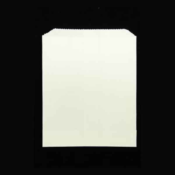 Grease Proof Lined Bag White 175 x 140mm