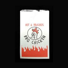 Foil Lined Chicken Bag Printed