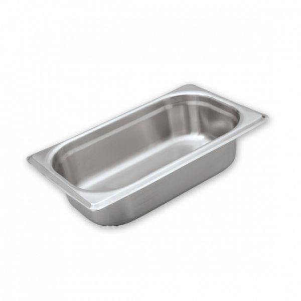Anti-Jam Stainless Steel Food Pans 1/4 Size