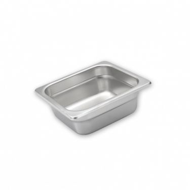 Anti-Jam Stainless Steel Food Pans 1/6 Size