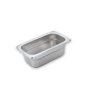 Anti-Jam Stainless Steel Food Pans 1/9 Size