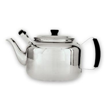 Canteen stainless steel teapot 3 6lt 18 cup taldara - Cup stainless steel teapot ...