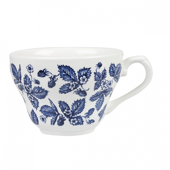 Churchill Vintage Print Blue Bramble Coffee or Tea Cup