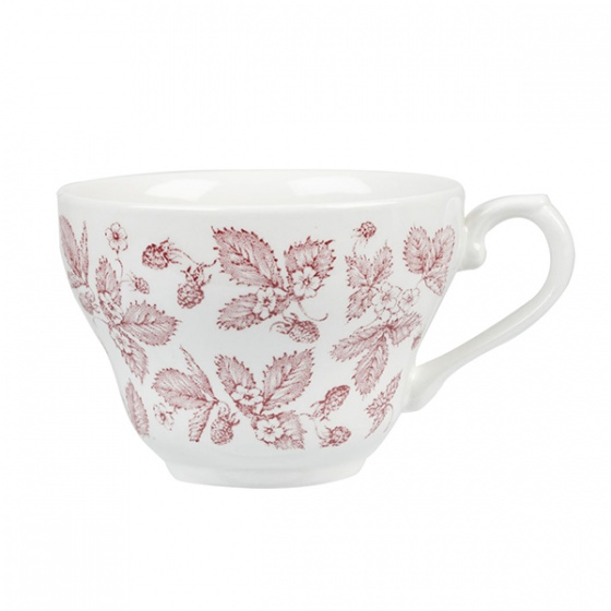 Churchill Vintage Print Cranberry Bramble Coffee or Tea Cup