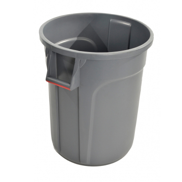 Trust Commercial® Thor Round Bins 38lt Grey