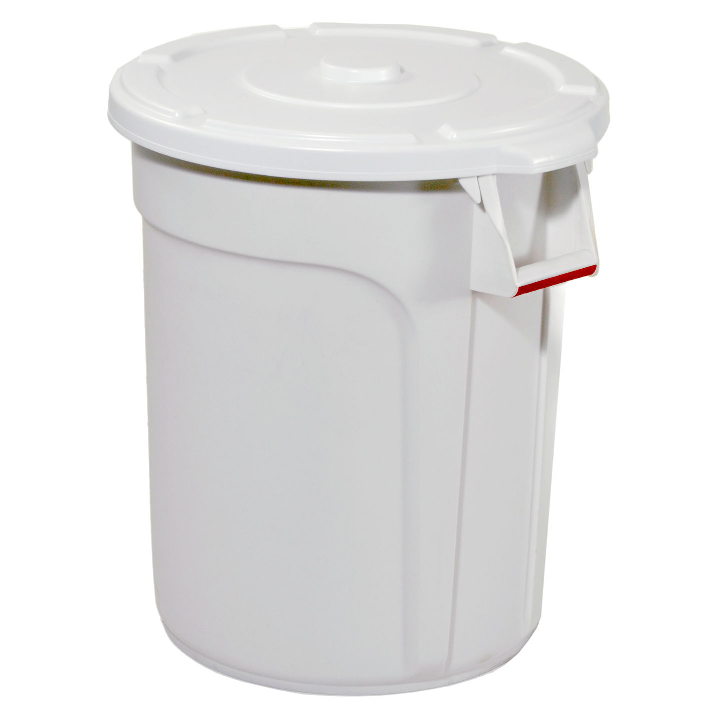 Trust Commercial® Thor Round Bins 38lt White