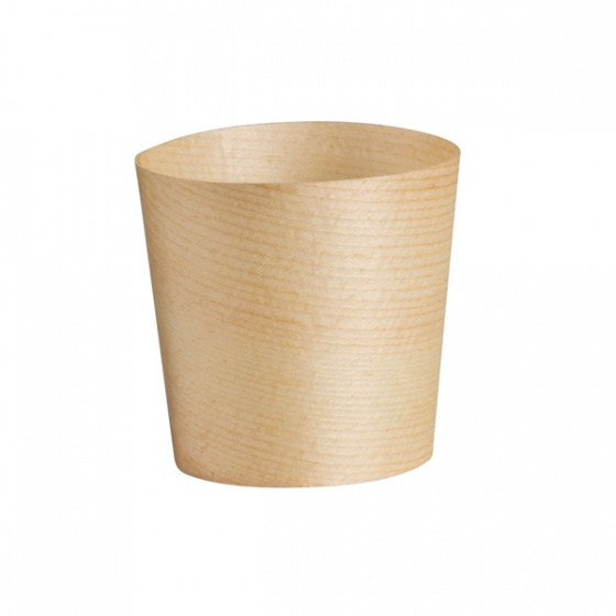 Disposable Cup Bio Wood 45 x 45mm