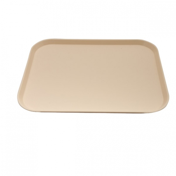Beige Fast Food Tray Large