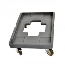 Insulated Food Pan Carrier Front Load Dolly
