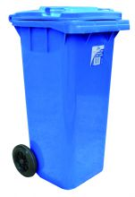 Heavy Duty Bin with Wheels Square 120 Litre