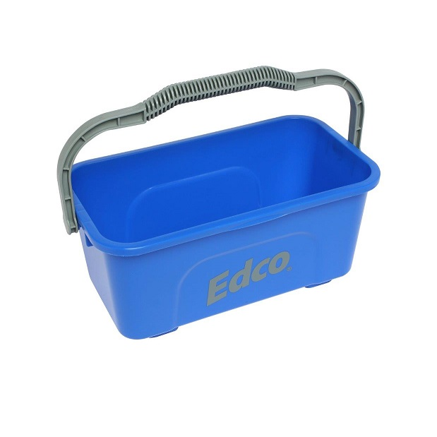 Oblong Mop & Squeegee Bucket Blue