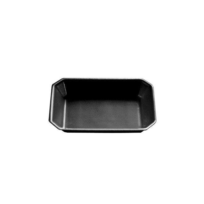 Deep Foam Trays Black