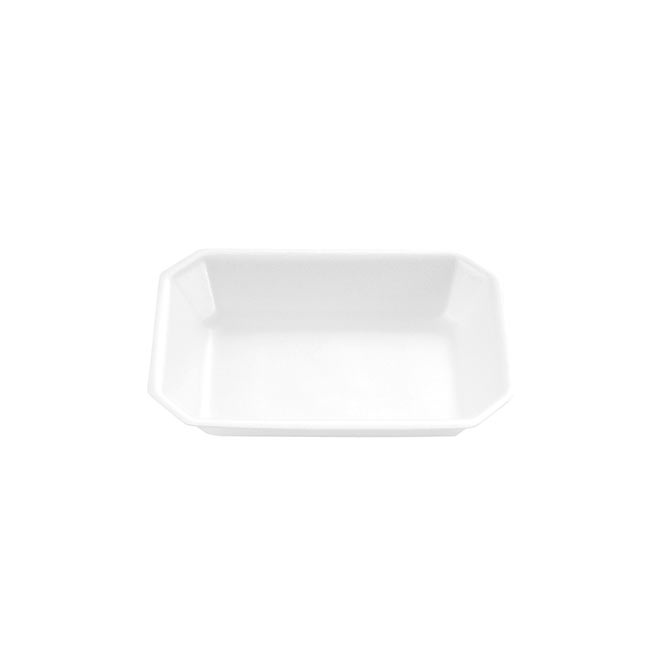 Deep Foam Trays White
