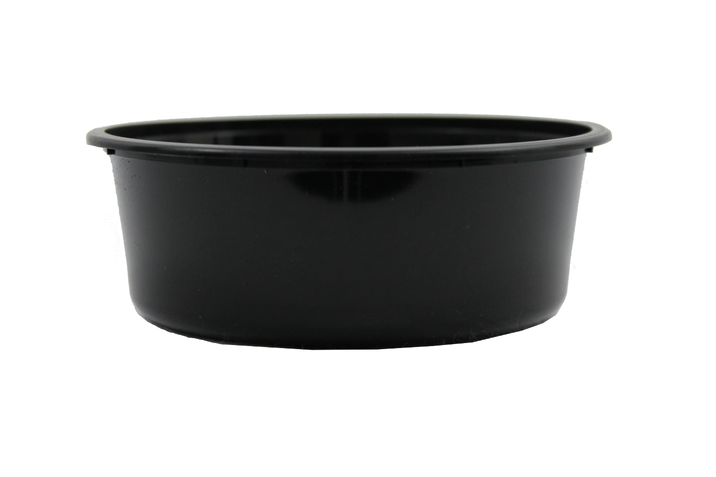Genfac Round Container 220ml Black