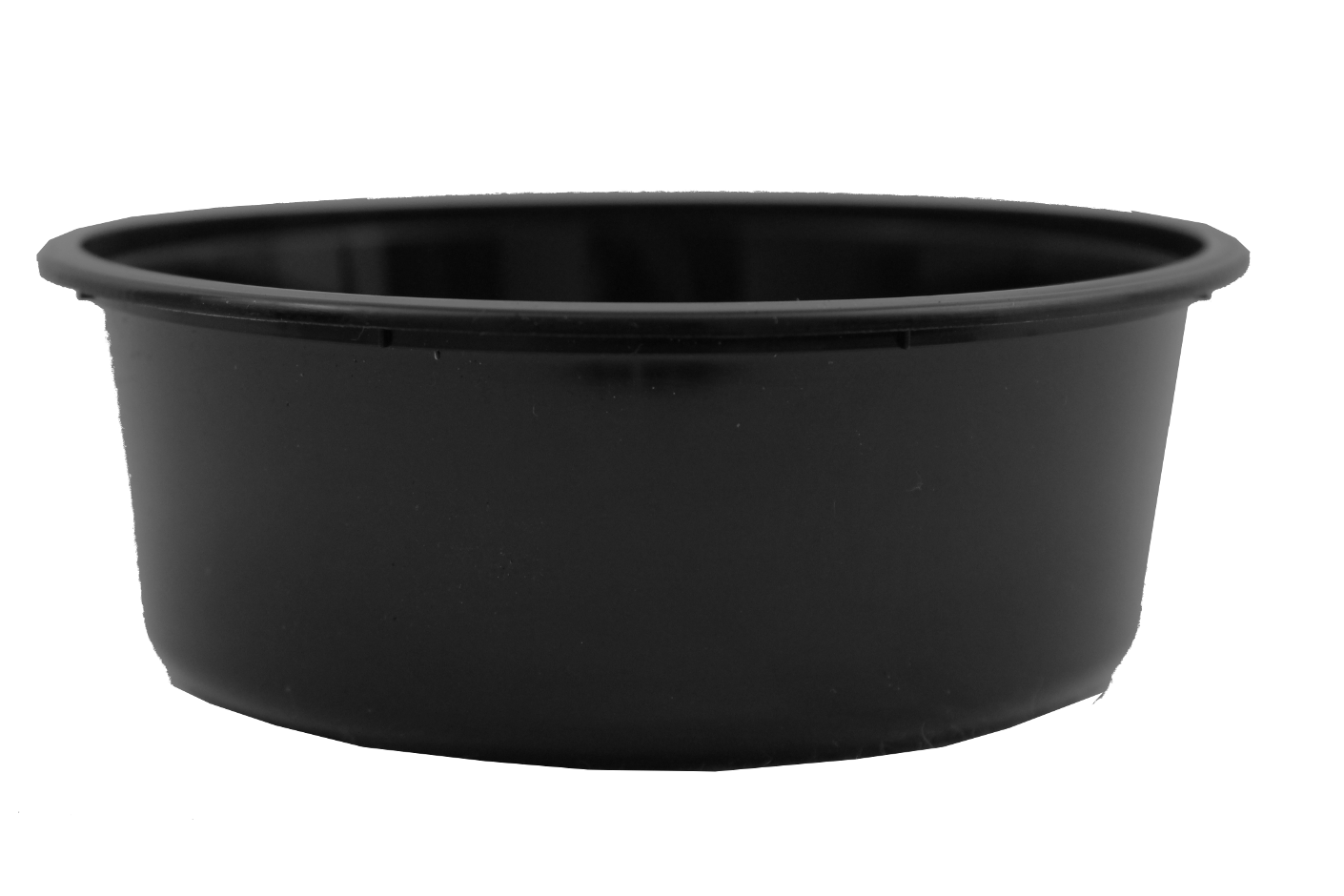 Genfac Round Container 280ml Black