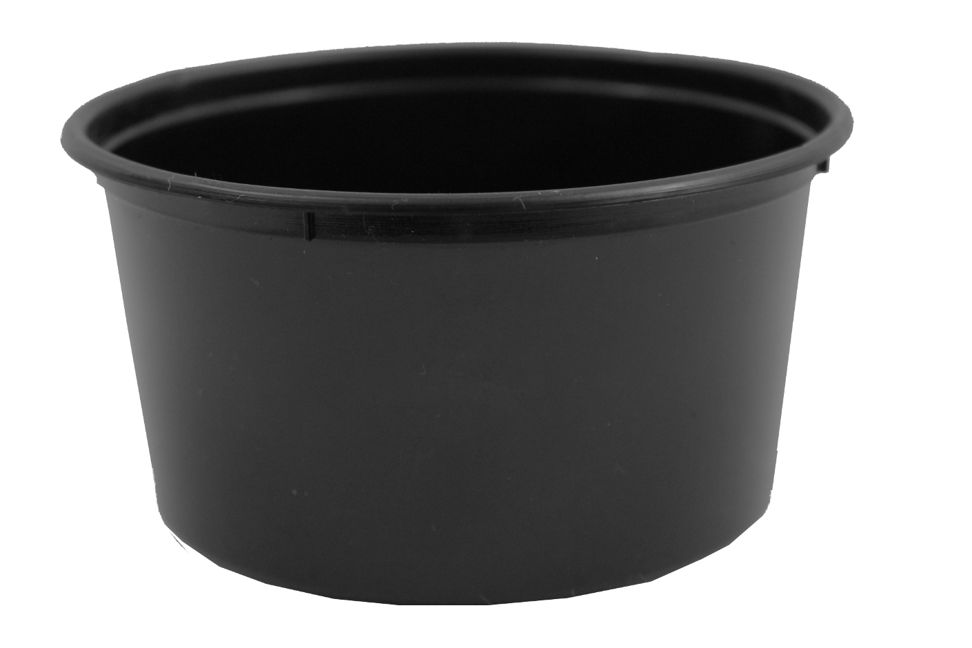 Genfac Round Container 440ml Black