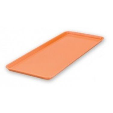Small Rectangular Platter Orange 390x150mm - Image 1