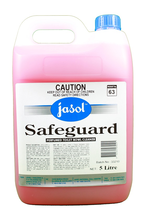 Safeguard Perfumed Toilet Bowl Cleaner