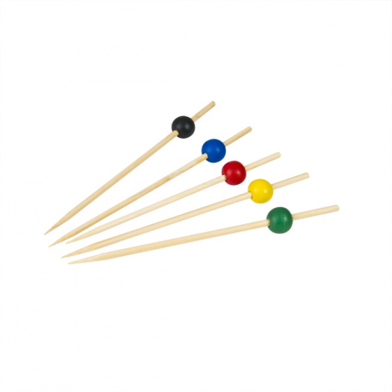 Party Pick Assorted Colours 125mm