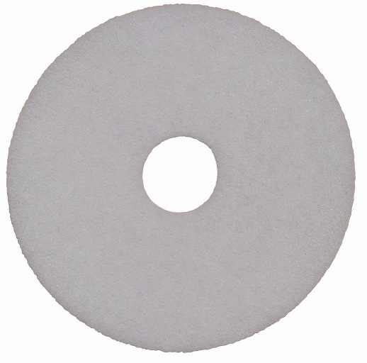 400mm Floor Pad White - Polish