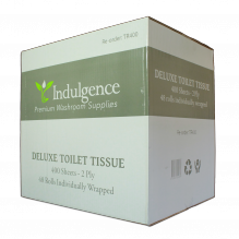 Indulgence 2 Ply 400 Sheet Toilet Roll