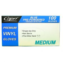 Food Service Vinyl Gloves Clear Medium