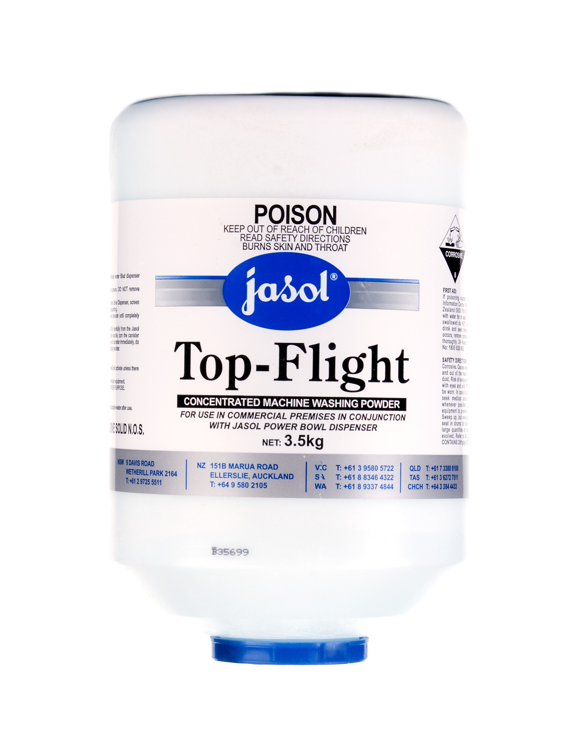 Top Flight Wash Powder - Automatic Machine