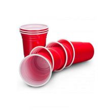Capri Red Plastic Party Cup 16/18oz