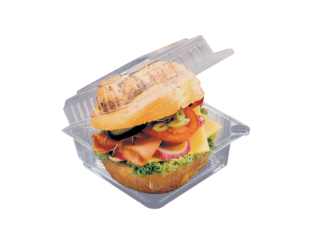Clear Eco-Smart® Takeaway Packs