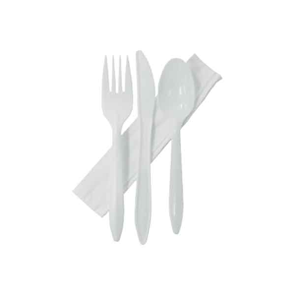 Cutlery Combo | Knife Fork Spoon Napkin