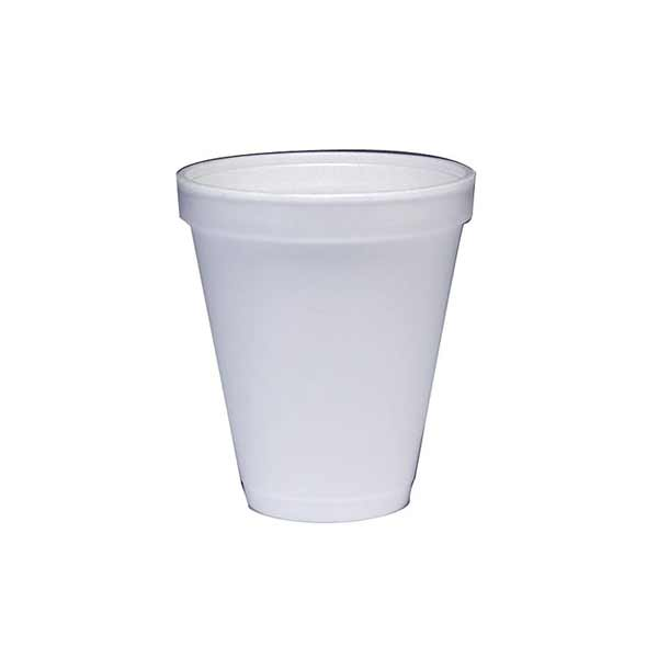 Insulated Foam Cup 12oz White