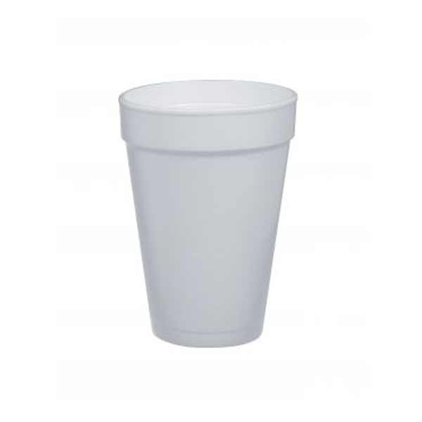 Insulated Foam Cup 16oz White
