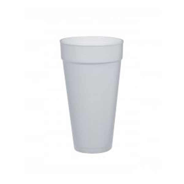 Insulated Foam Cup 24oz White