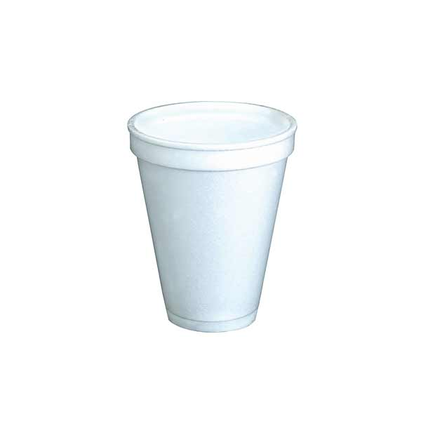 Insulated Foam Cup 8oz White