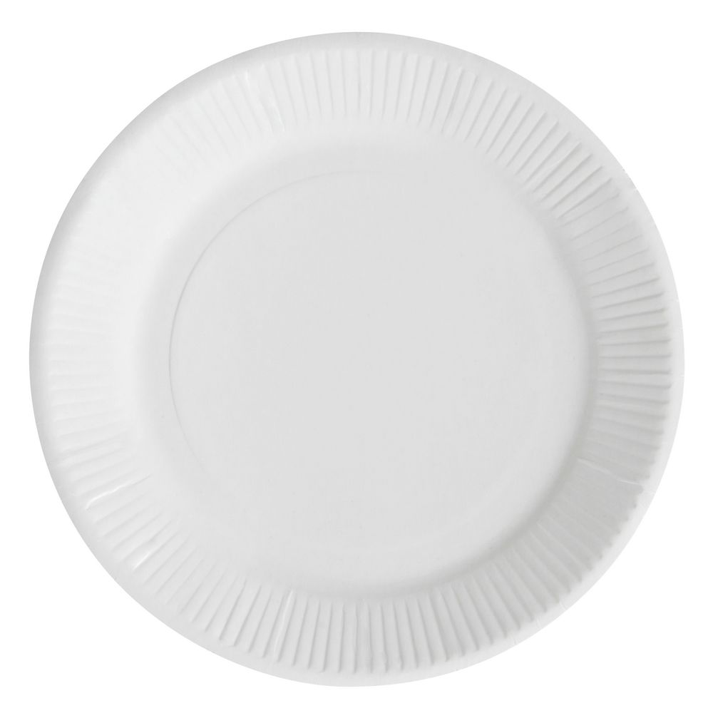 Paper Plate Uncoated 150mm