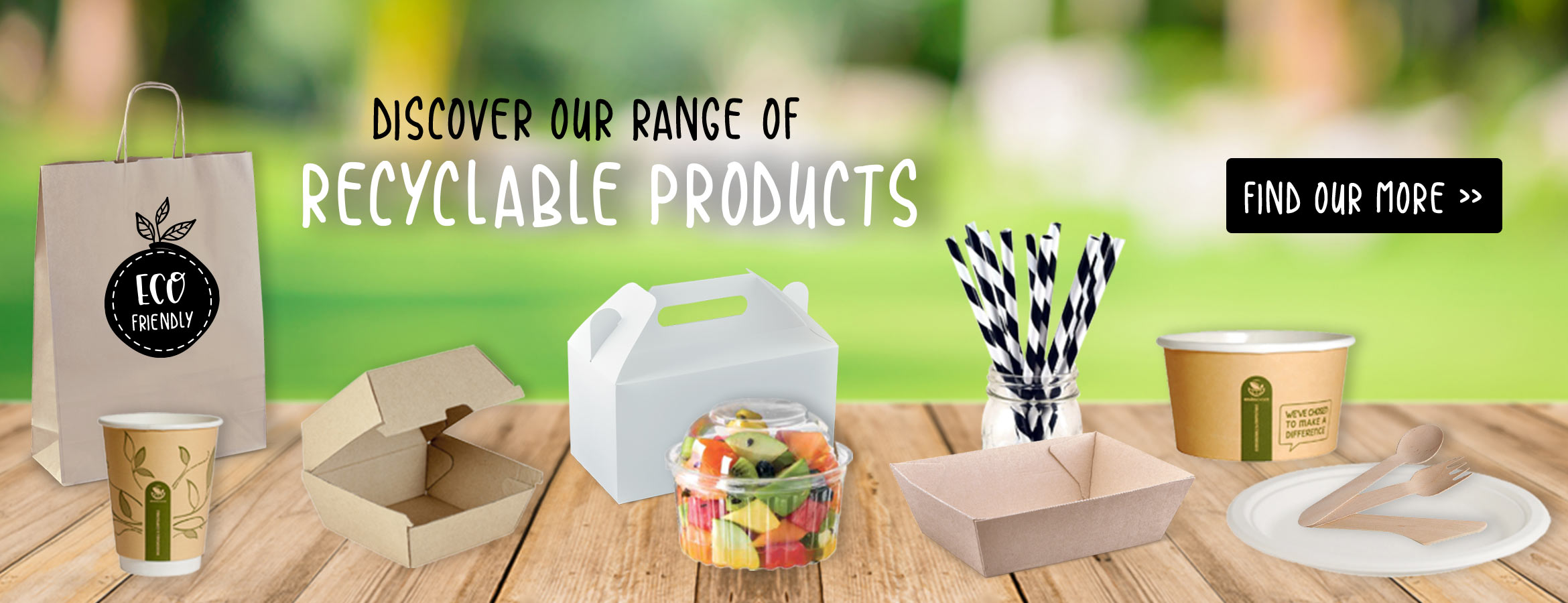 Discover Our Range of Recyclable Products