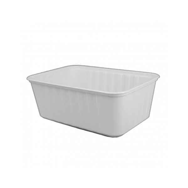 Genfac Ribbed Containers & Lids