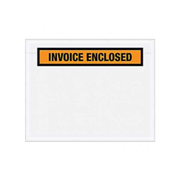 Invoiced Enclosed Envelopes