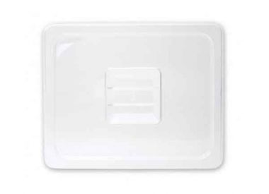 Polycarbonate Clear Food Pan Cover Solid