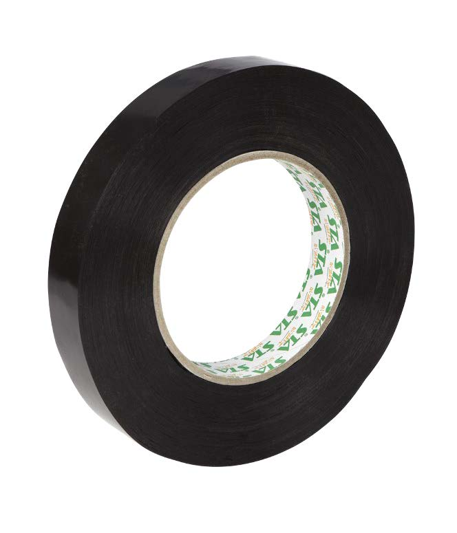 Stylus P185 Black Pallet Tape 19mm x 66m