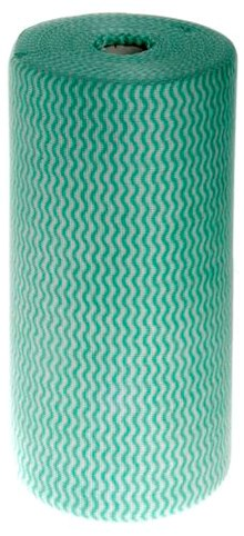 Capri Food Service Heavy Duty Wipe Green Roll